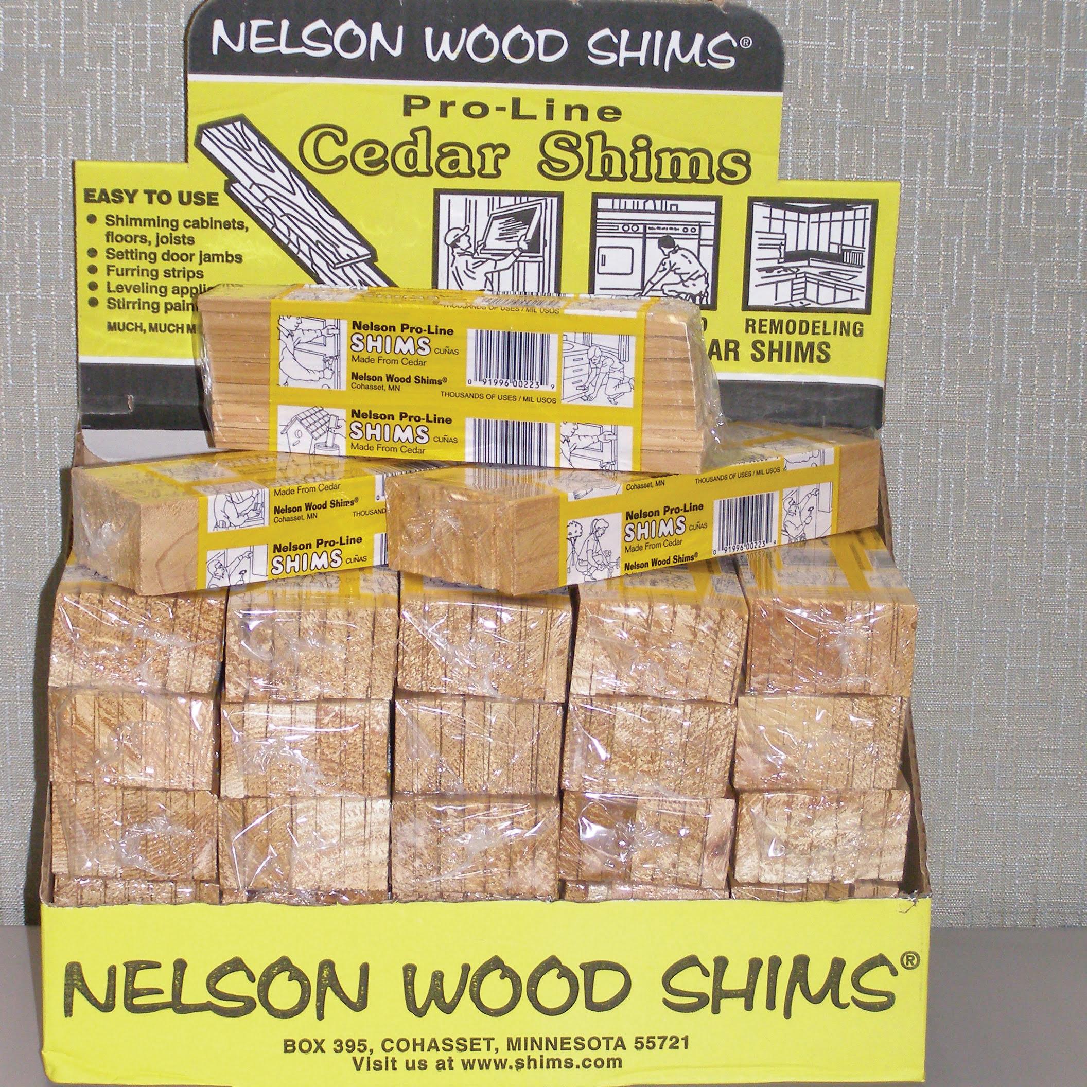 Nelson Wood Shims