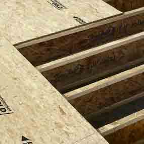 Edge Gold Floor Panels