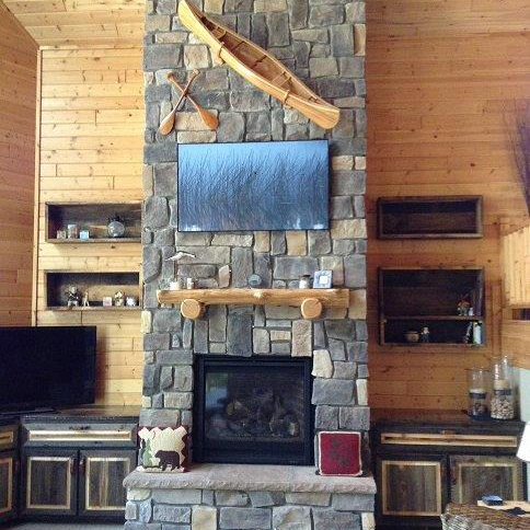 Glacier Lodge Factory Finished End-Matched Pine Paneling