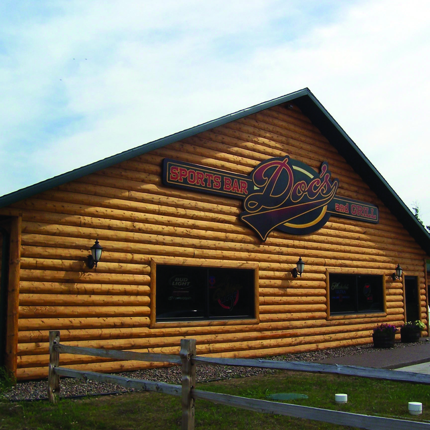 Glacier Lodge Log Siding
