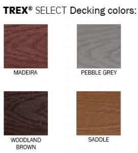 TREX Select Decking Colors