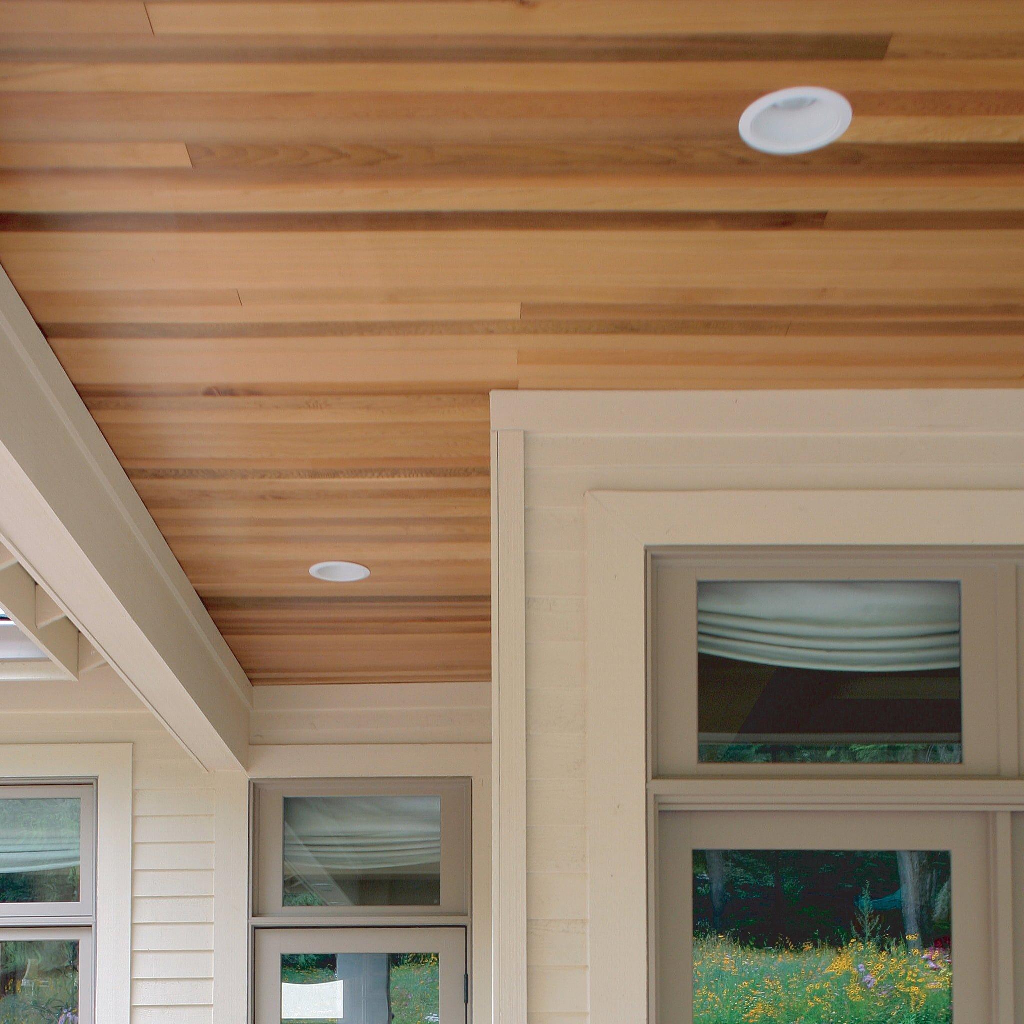 Clear Cedar Pattern for Ceilings