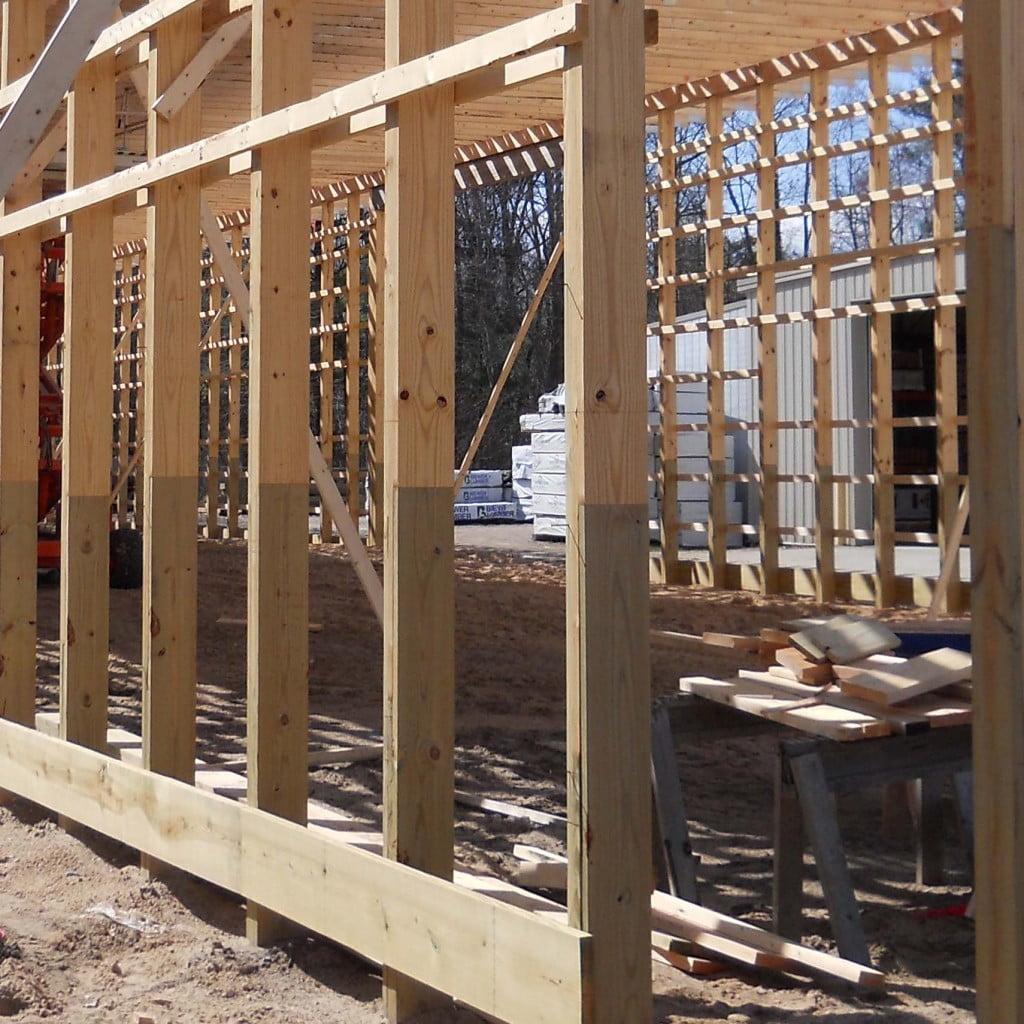 Engineered Post Frame Columns